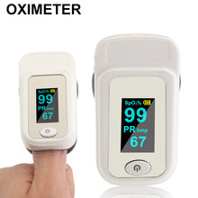 Professional Fingertip Pulse Oximeters SPO2 OLED Blood Oxygen Monitors Home Pulse Rate Monitor Pr Finger Monitor(China)
