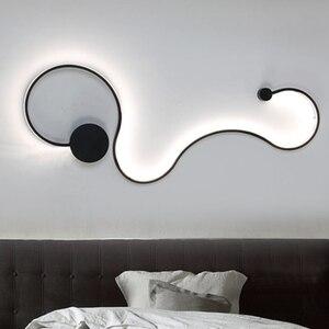 Image 5 - Luminária de teto moderna led, novidade, superfície, montada, para sala de estar, quarto, para áreas internas, decorativa, lâmpada de teto