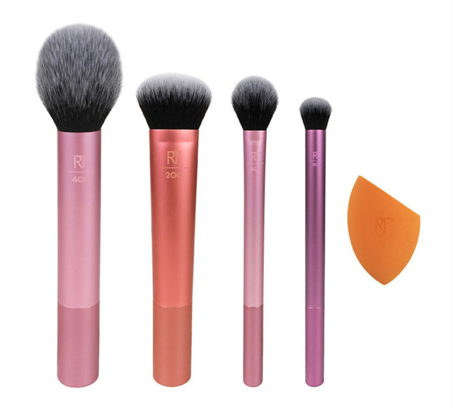 2019 NEW Make up Brushs 1-3-4-5-6-7pcs Maquillage Real Techniques Makeup Brushs Powder Loose Box Belt foundation brush 3