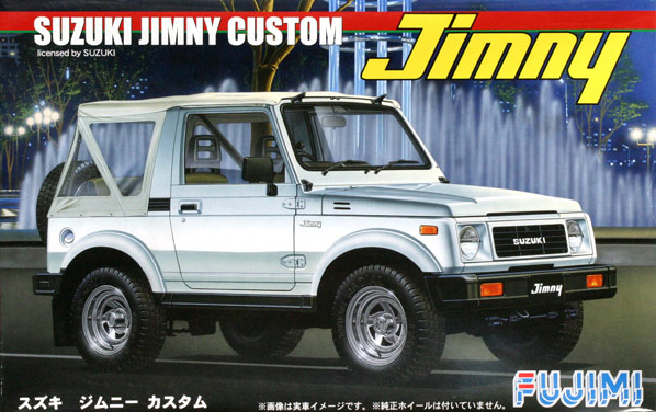 Assembly Car Model 1/24 Suzuki Jimny 1300 Custom 03818