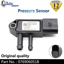 XUAN 076906051B EGR DPF Exhaust Differential Pressure Sensor MAP Sensor For Seat Alhambra Altea Exeo Ibiza Leon Skoda Fabia(China)