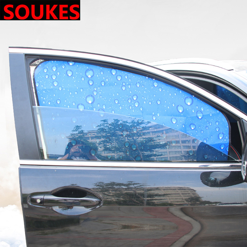 Cool Magnet Car Styling Window Sun Shade Curtain Cover For BMW E46 E39 E90 E60 E36 F30 F10 E34 X5 E53 E30 F20 E92 E87 M3 M4 M5 X3 X6 image