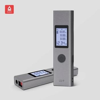 Dalmierz laserowy Xiaomi Duka dalmierz laserowy 40m LS-P ładowanie USB wysoka precyzja tanie i dobre opinie CN (pochodzenie) Tuka Laser Range finder 40m