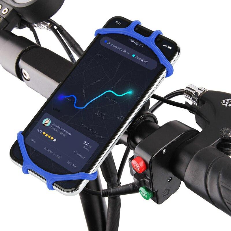 Universal Bicycle Phone Holder Bracket MTB Bike Handlebar Mount Cell Phone GPS