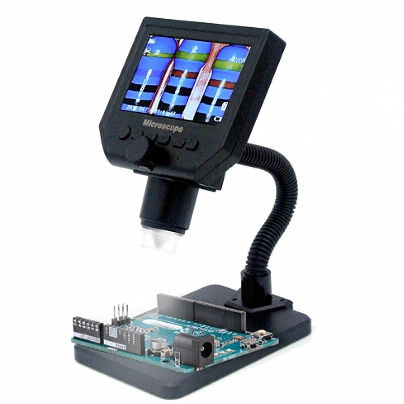 G600 600X 3.6MP 8LED Portable LCD Digital Microscope 4.3