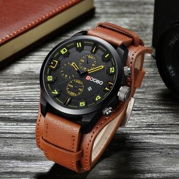 Sport Quartz Leather WristWatch