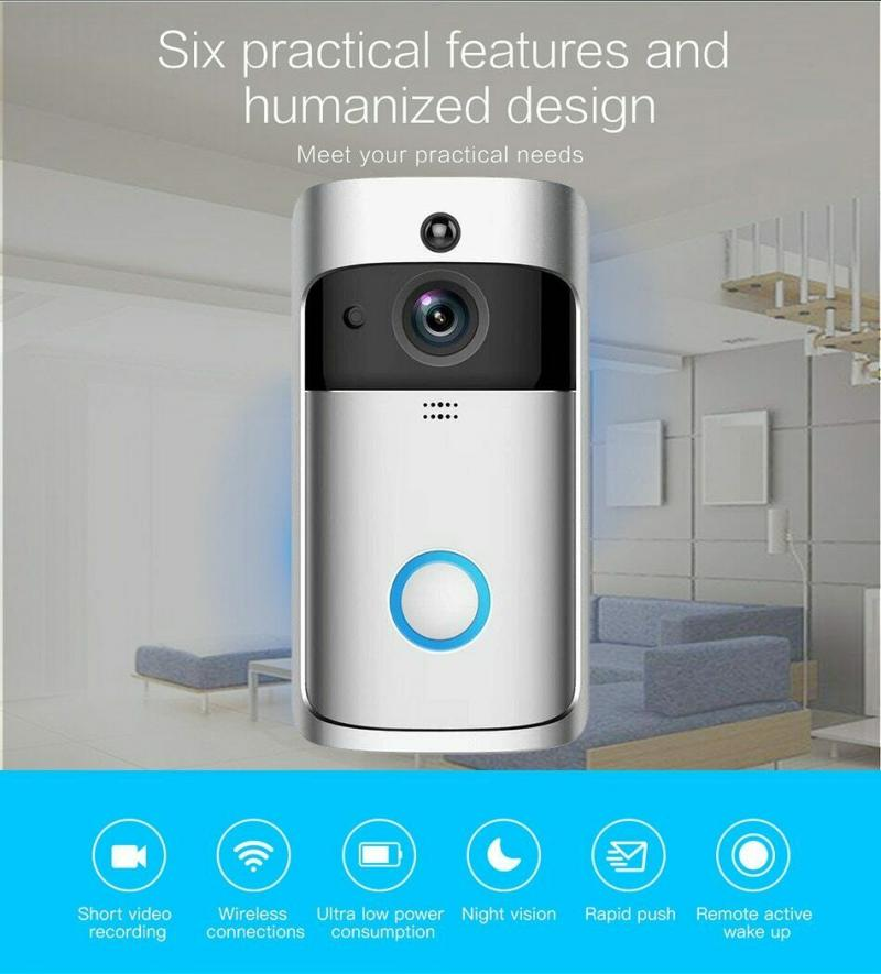 2020 Smart IP Video Intercom WI-FI Security Phone Door Bell WIFI Doorbell Camera For Apartments Alarm Wireless Security Camera