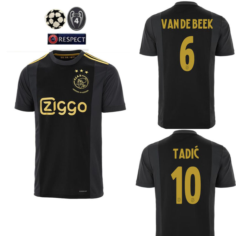Shirts Adult 2020-21 AjaxES Jersey Football Name New Arrive 3rd Soccer Jerseys 20 21 Adult Man Football Shirt
