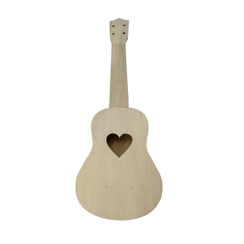 21 Inch Ukulele DIY Ukulele Kit Set Wood Hawaii Guitar Beginner Gift Musical Strings Instruments