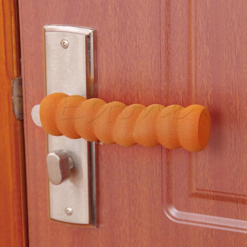Baby Child Doorknob Pad Case Spiral Anti-collision Door Handle Protective Sleeve
