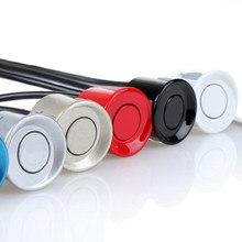 22mm czujnik czarny czerwony biały srebrny szampan złoty kolor dla zestaw czujników parkowania samochodu Monitor systemu odwrotnego