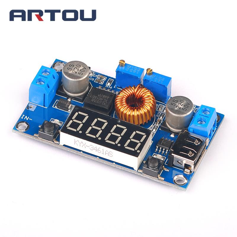 5A Lithium Battery Step down Charging Board power supply module Led Power Converter Charger Step Down Drive Module XL4015