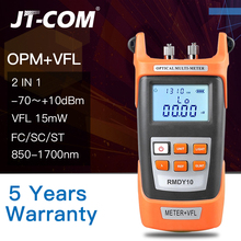 Buy 2 In1 Fiber optical power meter -70 + 3dBm and 15mW 15km Fiber Optic Cable Tester Visual Fault Locator Red Light Laser Pen directly from merchant!