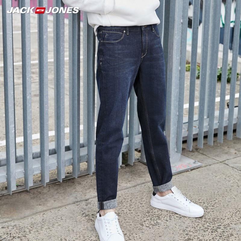 JackJones Winter Men's Cotton Warm Comfortable Jeans Menswear 219332549