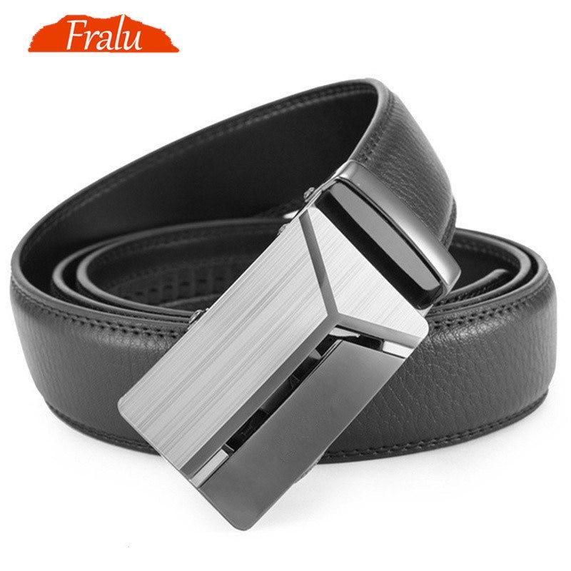 Male Automatic Buckle Belts For Men Authentic Girdle Trend Men's Belts Ceinture Fashion Designer Women Jean Belt Long 110-150