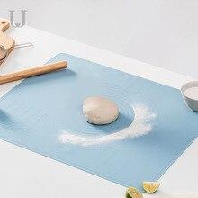 Alfombrilla de silicona para amasar Youpin Jordan & Judy, herramientas de horneado en casa, almohadilla para amasar con escala de grado alimenticio