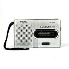 Портативный радиоприемник BC R21 Mini, AM, FM радио, регулируемая телескопическая антенна, карманные радиоприемники со встроенными динамиками, разъем для наушников 3,5 мм