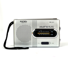 BC R21 Mini Draagbare Radio Am Fm Radio Verstelbare Telescopische Antenne Pocket Radio Ingebouwde Speakers 3.5Mm Koptelefoonaansluiting