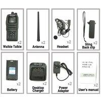 מכשיר הקשר 2pcs Baofeng DM-1701 Digital Analog מכשיר הקשר Dual Band Dual זמן חריץ DMR רדיו תחנת רדיו Comunicador Profiss Uniden (5)
