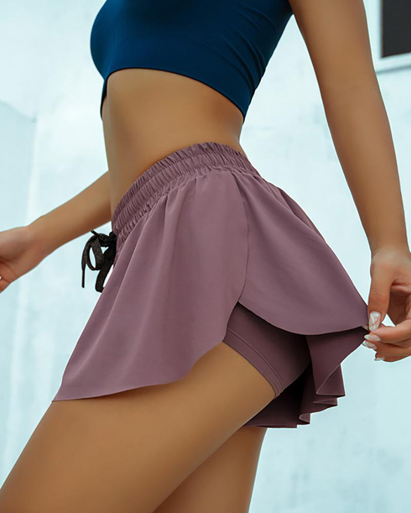 High Waist Workout Yoga Shorts Women Homewear Sports Shorts