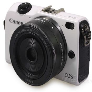 USED Canon EOS M2 18.0 MP Digital Camera with 18-55MM F/3.5-5.6 IS EF-M STM Lens