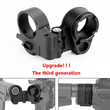 Oln Jacht Accessoires Tactische Gen 3-M Ar Folding Stock Adapter Voor M16/M4 Series Gbb (Aeg) voor Airsoft Rifle Scope Accessoires(China)