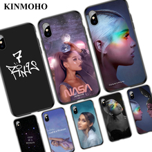 Ariana Grande No Tears Left To Cry Sweetener 7 Rings Phone Cases For iPhone 7 X XR XS MAX 6 6s 8 Plus 5S SE Soft Cover Capinha 7 8 left