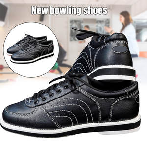 New Men Bowling Sneakers PU Breathable Bowling Shoes Male Sports Shoes Bowling Shoe Supplies  XR-Hot