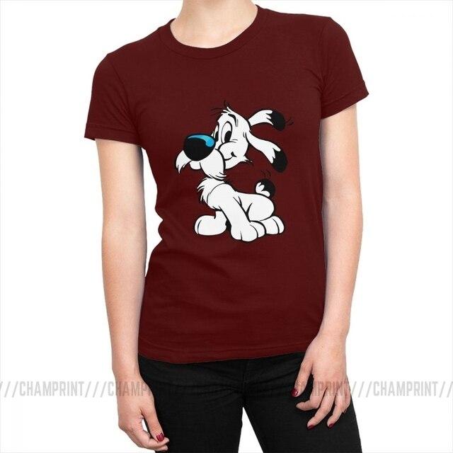 Officiel astérix loupe unisexe t-shirt idéfix panoramix agecanonix obstacle