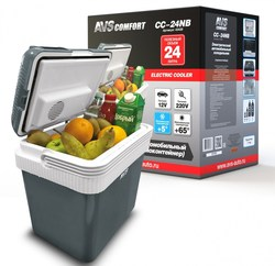 Refrigerador del coche AVS CC-24NB 24L 12 V/220 V autorefrigerator