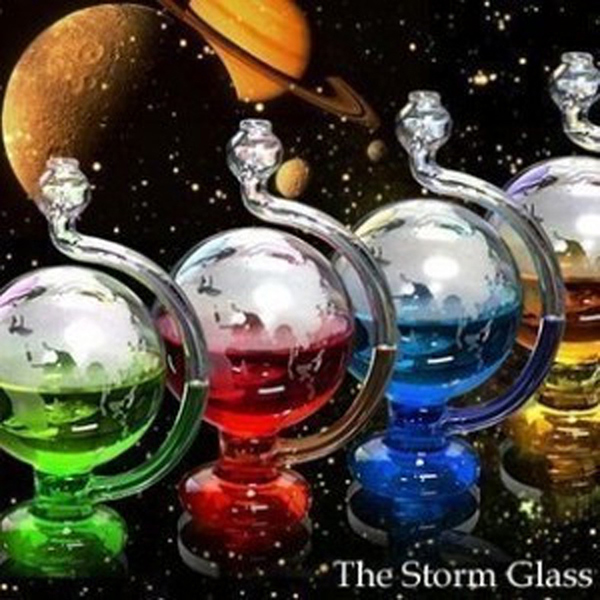 Inspired Glass Weather Storm Forecast Bottle Barometer Home Office DIY Decor DEC889