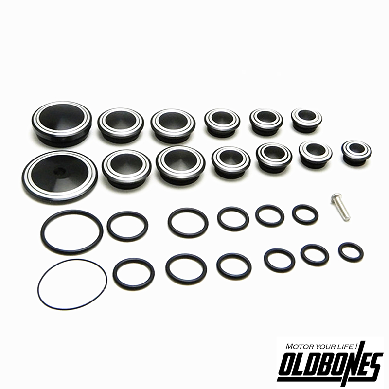 Motorcycle Fairing Body Protection Holes Plug Kits Cover for BMW R Ninet R9t CNC Frame Hole Caps Set R NINE T 2014 2015 2016