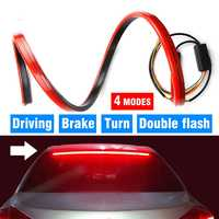 100cm Car Turn Signal Strip Brake Light Tail High Mount Stop Lamp Multiple Mode for Hyundai Emblem I30 Tucson Solaris IX35 Verna