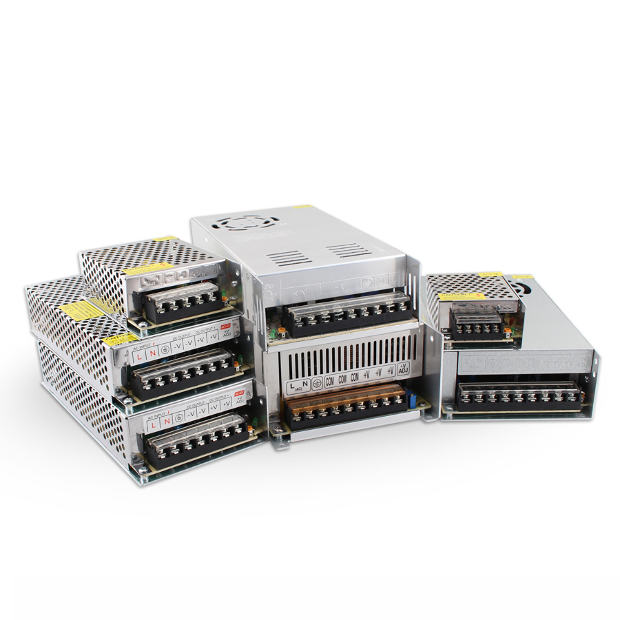 Courant alternatif 5 V 12 V 24V 36V 48V SMPS alimentation à découpage 5 V 12 V 24V 3A 5A 10A 220V à 12 V Source d'alimentation 500W 150W 300W 360W W