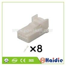 O envio gratuito de 2 conjuntos 8pin auto fio elétrico terminal cabo arnês unsealed conector 6098-5269