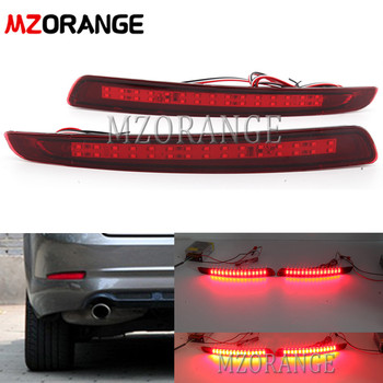 MZORANGE LED Rear Bumper Reflector Brake Light For Ford Mondeo Fusion 4 2011 2012 2013 Rear Tail Light Warning Light Car Styling