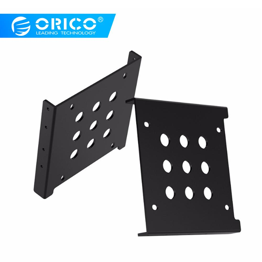 ORICO AC325-1S Aluminum 2.5 to <font><b>3.5</b></font> inch Hard Drive Caddy Free Installation Screws <font><b>Support</b></font> SATA HDD / <font><b>SSD</b></font> and IDE Port image