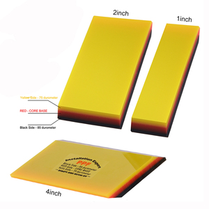 Image 5 - FOSHIO 3 Layer Soft Squeegee Carbon Fiber Sticker Remover Car Wrap Vinyl Film Install 2in1 Scraper Window Tint Car Cleaning Tool