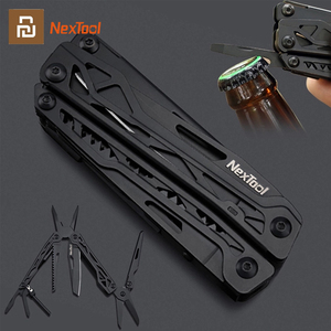 Xiaomi NEXTOOL Multi Functional Knife 10 IN 1 Portable Folding Knife Tools Durable Stainless Screwdriver Saw Pliers Ruler Cutter