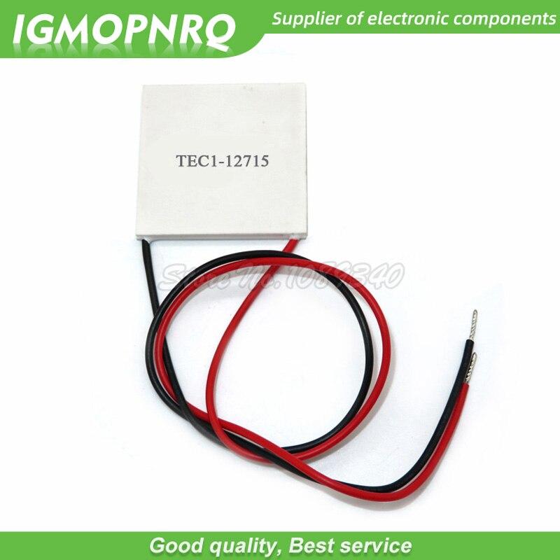1PCS  new  8A TEC1-12708 12V DC Heatsink Thermoelectric Cooler Peltier Cool Plat