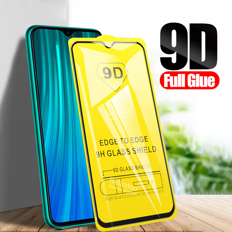 9D Full Glue Tempered Glass For Xiaomi Redmi Note 8 Pro Protective Glas Xiomi Xaomi Redmi 8a Hongmi Redmi8a Redmi8 A Note8 Film