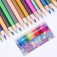 120/136/160 cores conjunto de lápis de madeira crianças estudante desenho esboçando pintura ferramenta