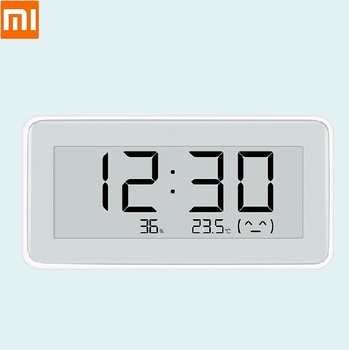 Mijia BT4.0 Wireless Smart LCD Digital clock Baby room Hygrometer Thermometer Temperature monitoring electronic watch image