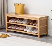 Бамбуковая стойка для обуви и органайзер хранения многофункциональная