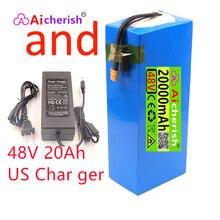 18650 литиевый аккумулятор 48 В 20 А · ч 13s6p 1000 Вт Аккумулятор