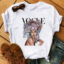 Maycaur New Vogue T-shirts Harajuku Summer Ulzzang Female Tshirt Leisure Fashion