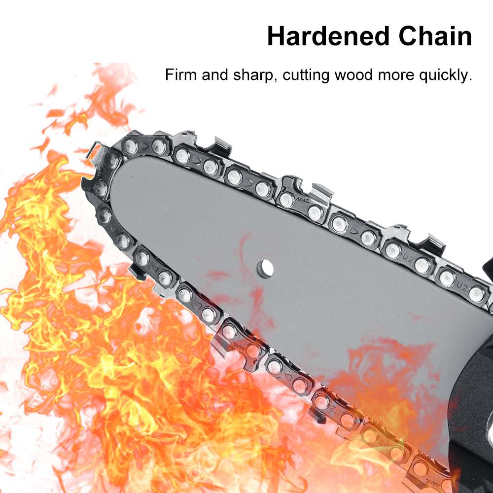 home improvement : 800W Mini Electric Chain Saw Electric Saw Pruning One-handed Garden Tool for Makita 18V-21V Battery Woodworking Power Tools