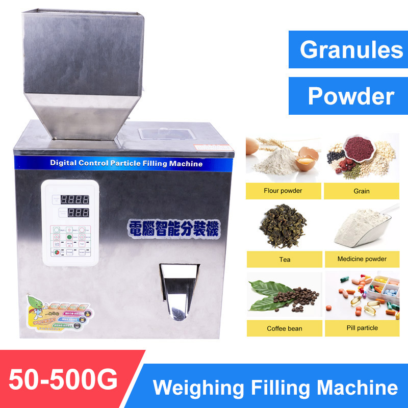 YTK 500G Granule Powder Filling Machine Automatic Weighing Machine Medlar Packaging Machine For Tea Bean Seed Particle
