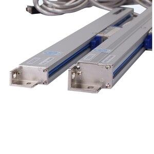 Бесплатная доставка рациональный WTA5 0,005mm 50 200 250 300 350 400 450-600mmlinear весы ttl 5V линейный датчик для фрезерный станок с ЧПУ