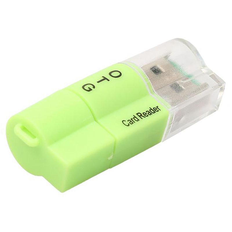 Micro-USB OTG To USB 2.0 Adapter Dual-Use Micro-SD Card Reader For Phone Tablet